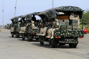 Nigeria Army in Baga%B%D